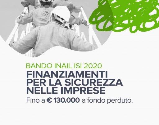 Latina Bando INAIL ISI 2020 – Focus per le imprese Finanziamenti per la sicurezza nelle per le imprese
